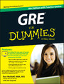 GRE For Dummies - with Online Practice Tests