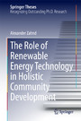 The Role of Renewable Energy Technology in Holistic Community Development