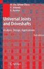 Universal Joints and Driveshafts - Analysis, Design, Applications